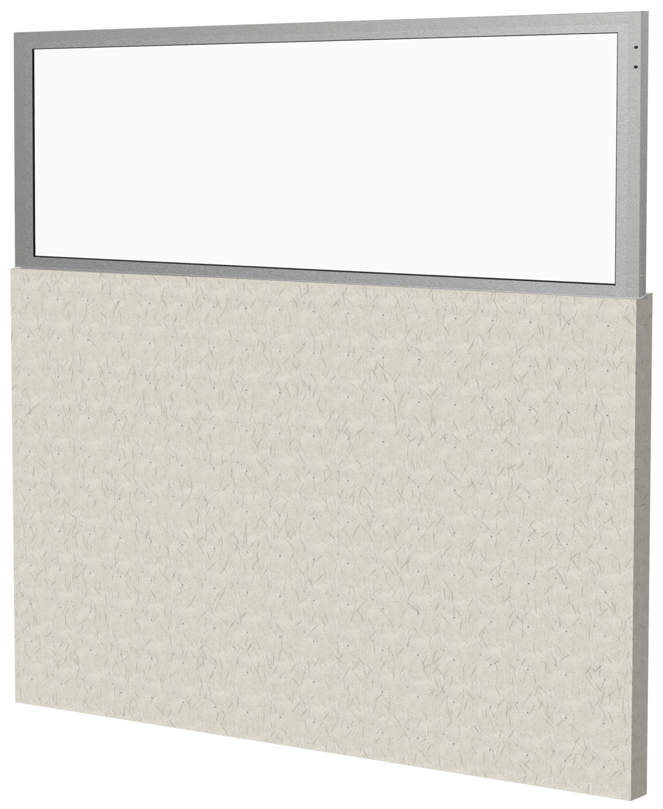 "24"" Glass Flag Panel for Cement Masonry Unit (CMU)"