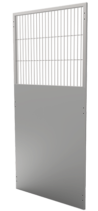 """Back Panel 48"""" Iso with Grill"""