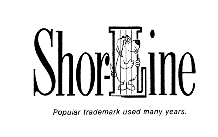Shor-Line trademark from the 60s
