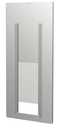 Back Panel with Transfer Door with Hook