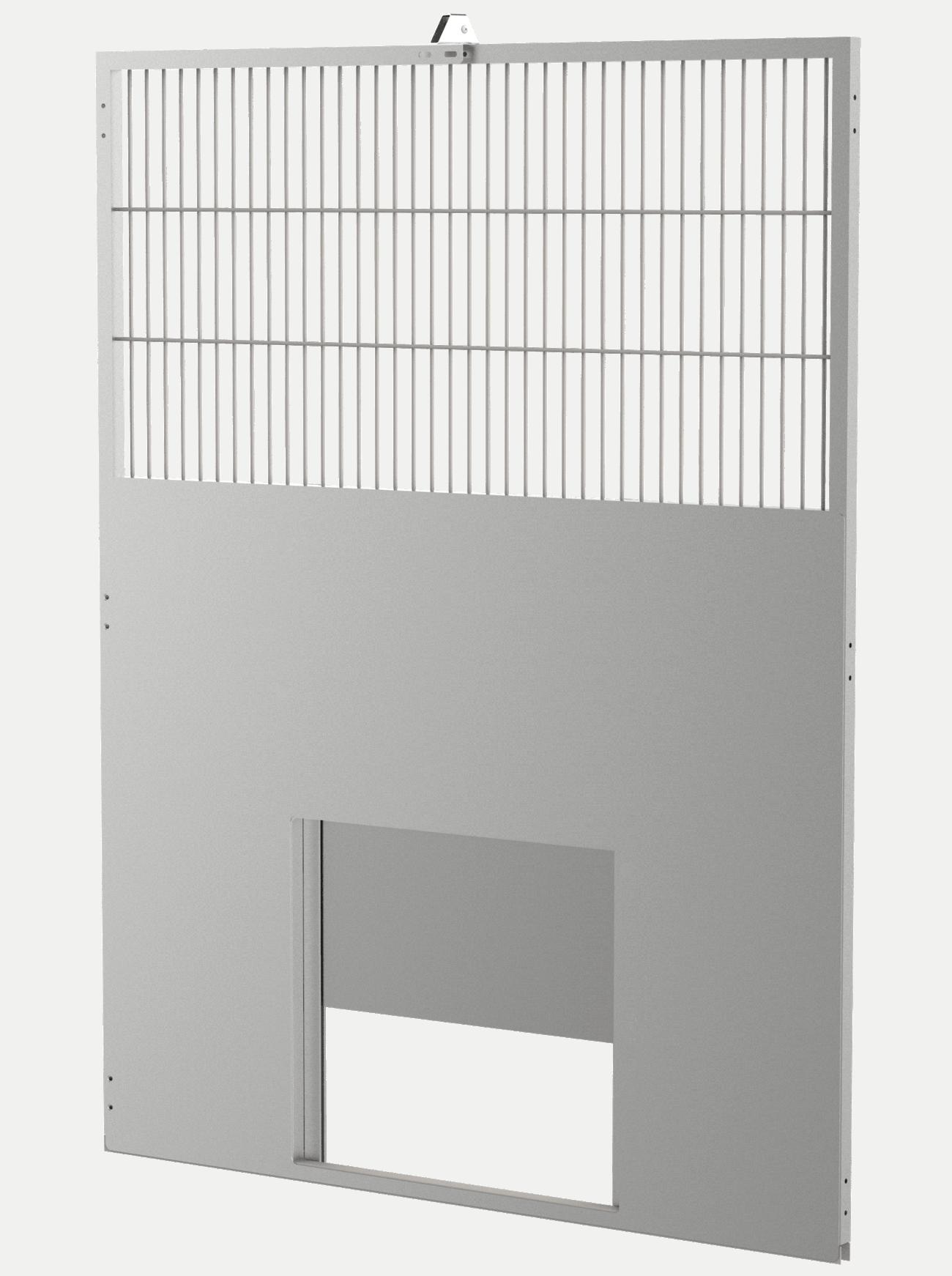 Transfer door