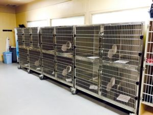 Shor-Line cages retrofitted with Kat Portals