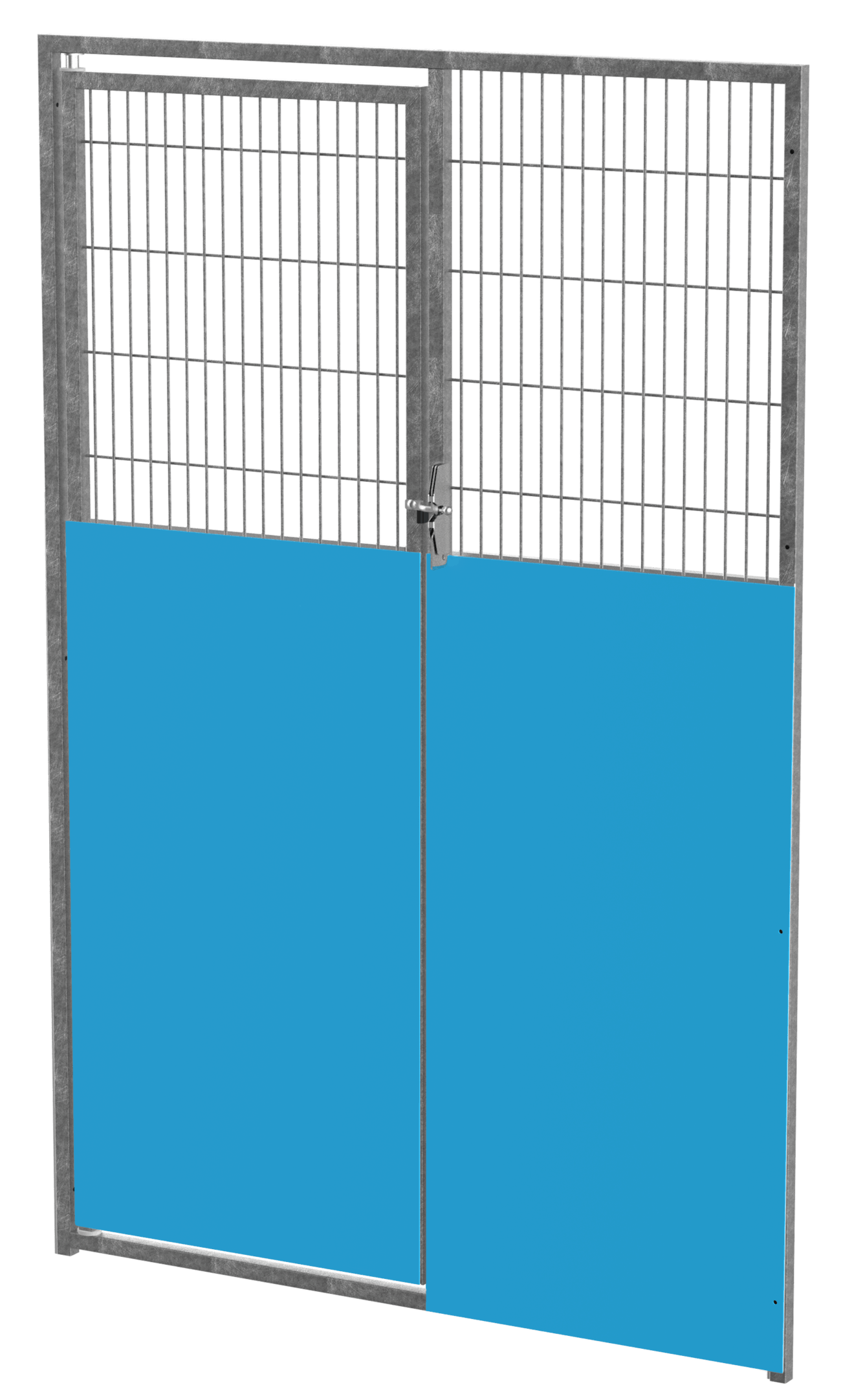 """48"""" Iso with Wire Gate Galvanized"""