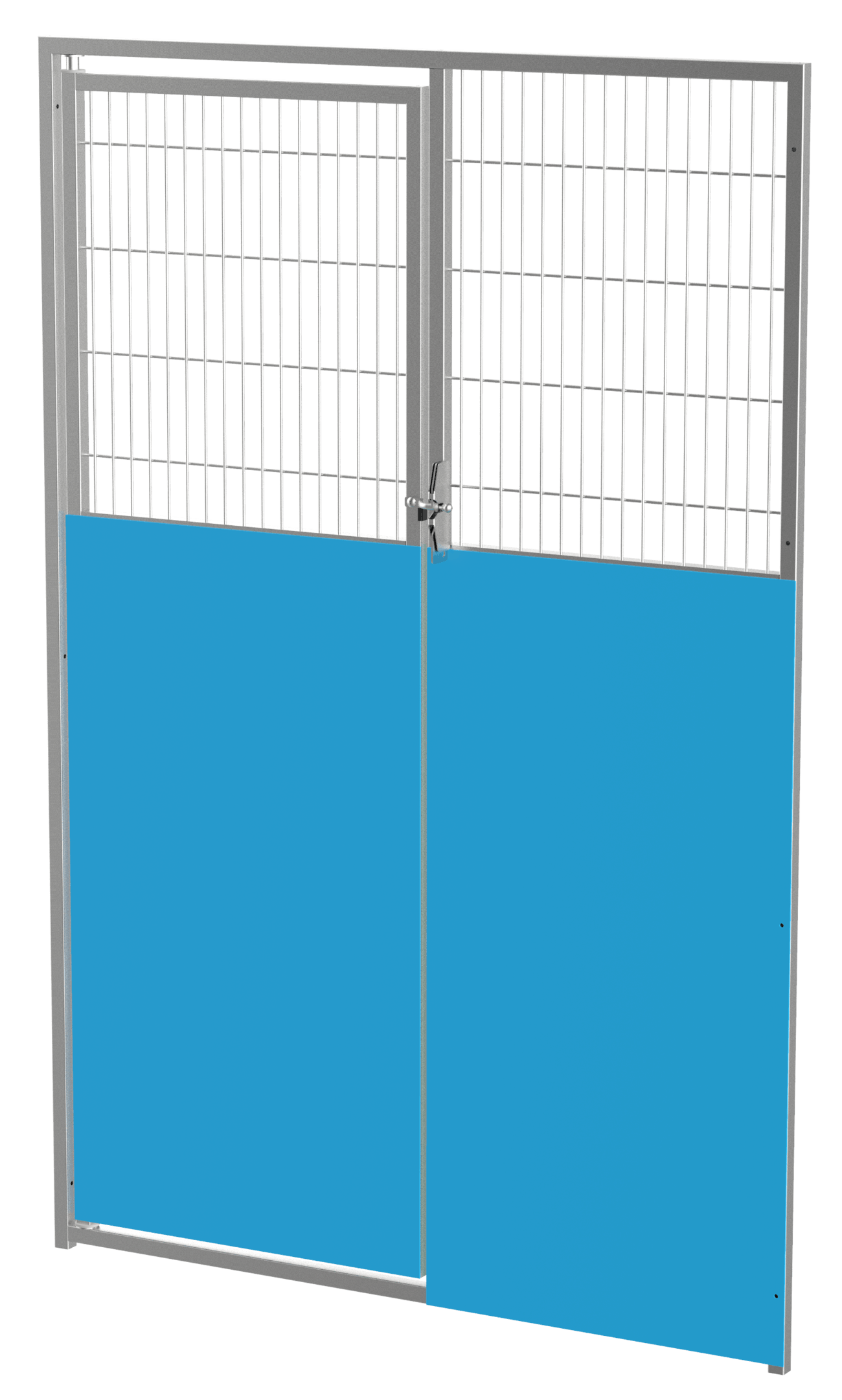 """48"""" Iso with Wire, Stainless Steel Gate"""