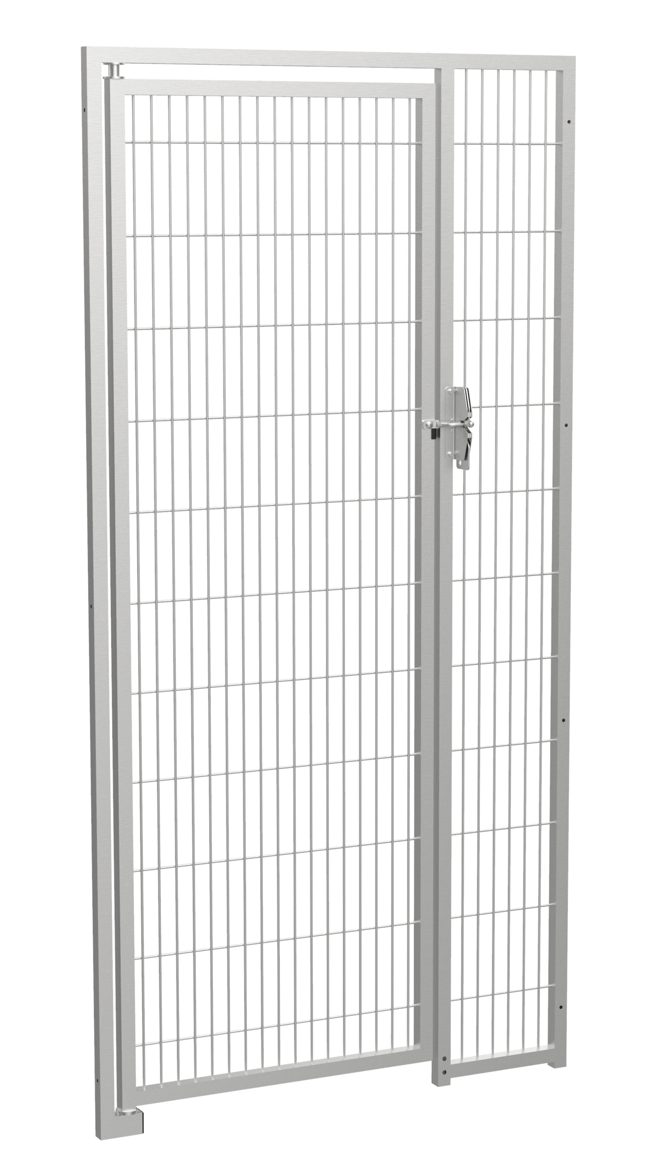Stainless Steel Gate without Bottom Bar