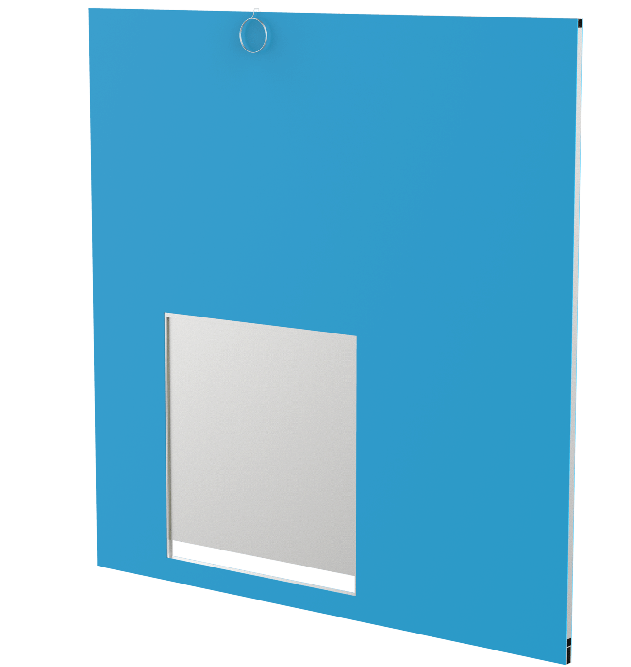 PVC Side Panel with Transfer Door