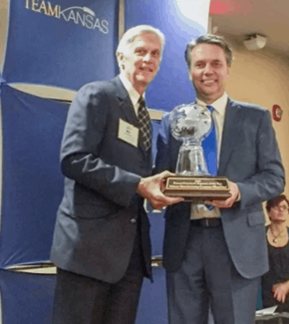 Shor-Line Honored as Kansas Exporter of the Year