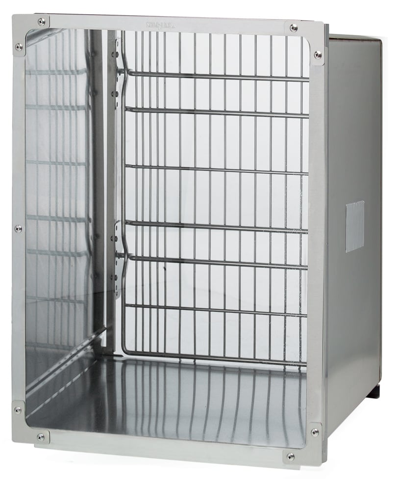 Glass Back Cages