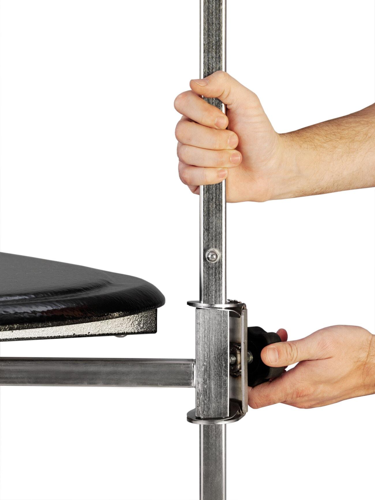Arm height adjusts 22