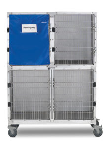 Shor-Line 4' Stainless Steel Cage Assembly, Option B, with Quiet-Time Cage Cover
