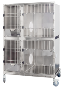 Serenity Suite Stainless Low Stress Stainless Steel Cage Bank